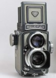 Rolleiflex 4 X 4  Post-War Gray Baby
