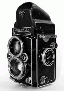 Rolleiflex 2.8E3 Front Right