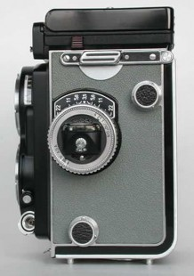 Rollei T1 Gray - Left side