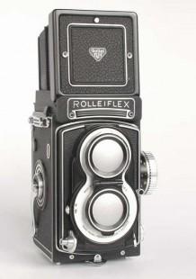 "Rolleiflex T - ""White Face"""